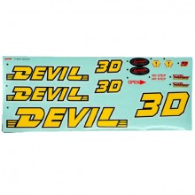 DYNAM DEVIL DECAL