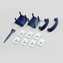 DYNAM CORSAIR F4U PLASTIC PARTS