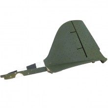 DYNAM C47 DAKOTA TWIN RAF RUDDER (GREEN)