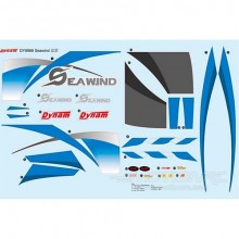 DYNAM SEAWIND BLUE DECAL SHEET
