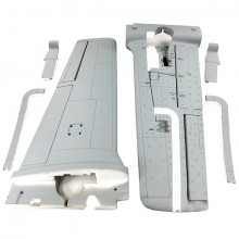 DYNAM T28 TROJAN MAIN WING (GREY)