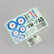 DYNAM TIGER MOTH DECAL