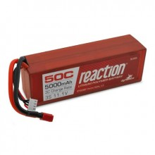 Reaction Hardcase 11.1volt 5000mAh 3S 50C LiPo with Deans connector