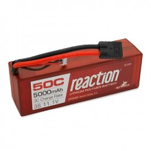 Reaction Hardcase 11.1volt 5000mAh 3S 50C LiPo with Traxxas connector