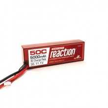 Reaction Hardcase HD 11.1volt 5000mAh 3S 50C LiPo with EC5 connector