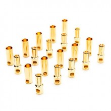 Gold Bullet Connector Set 5.5mm