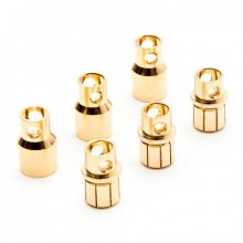 Gold Bullet Connector Set 8.0mm (3)