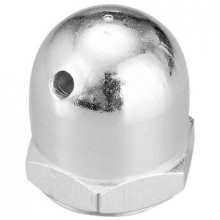1/4 Inch-28 Aluminum Safety Spinner Nut