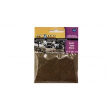 Earth Powder for Model Scenery