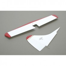 DHC-2 Beaver 25E White/Red Tail Set
