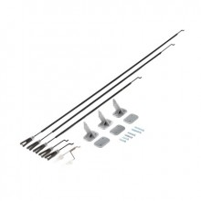 P-51D Pushrods & Control Horn Set