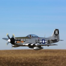 E-Flite P-51D Mustang 1.2m BNF Basic with AS3X and SAFE Select - PRE-ORDER ONLY