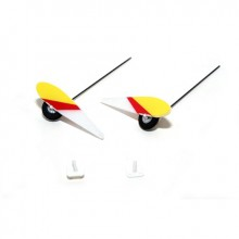 E-Flite Micro 4-Site Main Landing Gear Set with Mounts EFL9055 (25)