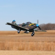 E-Flite P-39 Airacobra 1.2m BNF Basic with AS3X and SAFE Select - FOR PRE ORDER ONLY