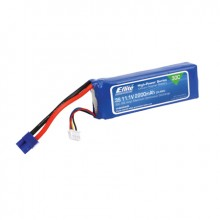 2200mah 3S 11.1volt 30C LiPo 13AWG with EC3 Connector