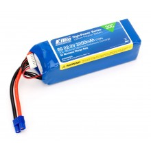 22.2volt 3200mAh 6S 30C LiPo with12AWG Lead and EC3 connector