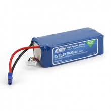 4000mah 6S 22.2volt 30C LiPo 12Gauge with EC3 Connector