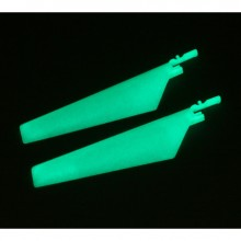 Blade Micro CX Glow in the Dark Lower Main Blade Set (2)