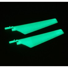 Blade Micro CX Upper Glow in the Dark Main Blade Set (2) EFLH2221GL (25)