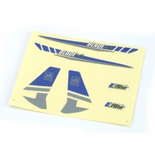 Blade Micro CX Blue & Silver Graphics Decal Sheet EFLH2230 (26)