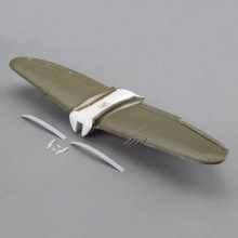 Main Wing with Accessories: UMX P-47 BL