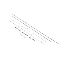 Pushrod Set: UMX P-51 BL EFLU3308 (25)