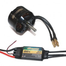 Electrospeed Motor & ESC Boost 50 Power Pack for use with VQ models and similar