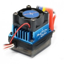 ETRONIX PHOTON 2.1W 45AMP ESCBRUSHLESS w/SHORT WIRE/CONNECT