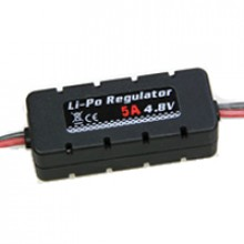 ETRONIX LI-PO REGULATOR 4.8V 5A w/CASING 20x14x49mm
