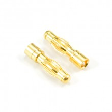 4.0MM MALE GOLD CONNECTOR (2)