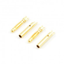 2.0MM GOLD CONNECTORS (2pr)