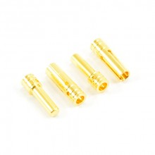 3.0MM GOLD CONNECTORS (2pr)