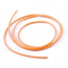 14awg SILICONE WIRE ORANGE (100CM)