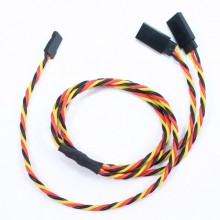 60CM 22AWG JR TWISTED Y EXTENSION WIRE
