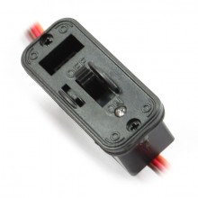 HEAVY DUTY JR SWITCH w/LED INDICATOR & CHARGE PORT