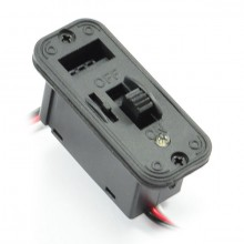 HEAVY DUTY FUTABA SWITCH w/LED INDICATOR & CHARGE PORT