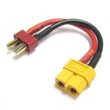 FEMALE XT-60 TO MALE DEAN PLUG CONNECTOR ADAPTOR