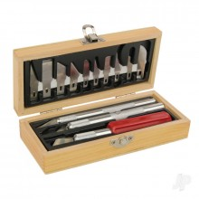 Hobby Knife Set Wooden Box (Boxed)