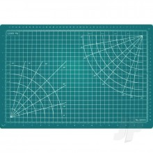 3.5x3.5in Self-Healing Cutting Mat Green (Bulk)