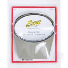 Excel Blades MagniVisor Deluxe Head-Worn Magnifier with 4 Different Lenses  Grey (Boxed)