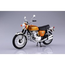 1/12 Honda CB750FOUR(K0) Candy Gold DIE CAST READY BUILT