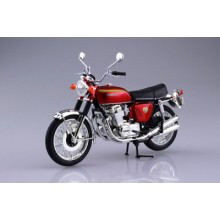 1/12 Honda CB750FOUR(K0) Candy Red DIE CAST READY BUILT