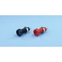 4mm SOCKET RED - HIGH QUALITY