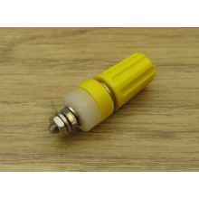 4mm TERMINAL POST YELLOW