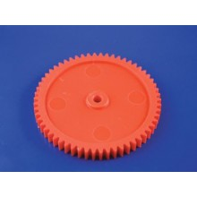 60MM GEAR 58 TOOTH RED SINGLES