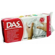 DAS AIR CLAY 500G WHITE