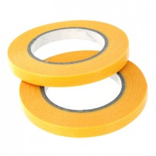 MASKING TAPE 6MM X 18M PACK OF 2 ROLLS