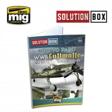 WWII LUFTWAFFE LATE FIGHTERS SOLUTION BOOK