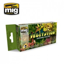 VEGATATION DIORAMA COLOURS SET