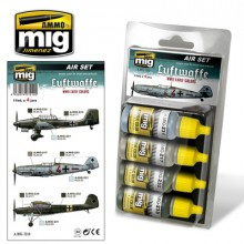 LUFTWAFFE EARLY WWII ACRYLIC PAINT SET